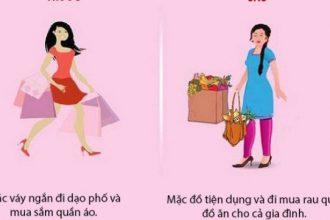 Khác biệt của phụ nữ trước và sau khi lấy ...