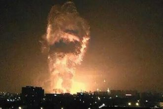 Kinh hoàng nửa đêm 2 quả cầu lửa tại Thiên ...