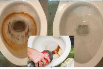 Dùng nước ngọt vệ sinh, mẹ chẳng lo mó tay ...