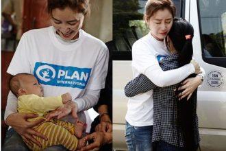 Nữ diễn viên Hàn gặp lại con nuôi ở Việt ...