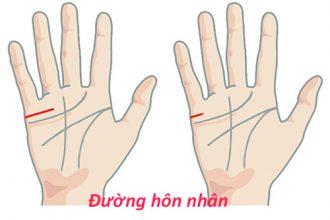 Ý nghĩa độ dài đường hôn nhân trên bàn tay? ...