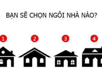 Ngôi nhà trong mơ tiết lộ tính cách của bạn ...