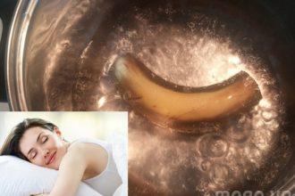 Ít ai biết nước nấu chuối trị mất ngủ tốt ...