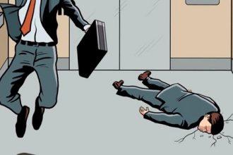 Nếu nhảy lên khi thang máy bị rơi thì bạn ...