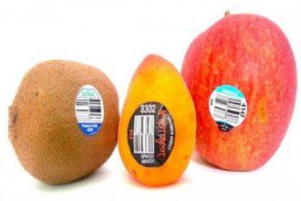 Hãy cẩn thận với những trái cây nhập có số ...