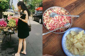 Mẹ Việt bầu 8 tháng tăng… 1kg nhờ mỗi ngày ...