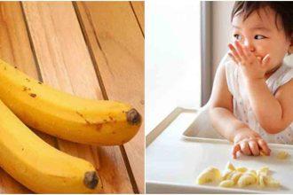 Vì sao cho con ăn nhiều hơn 2 quả chuối ...