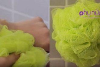 Cảnh báo: Những ai đang dùng bông tắm, 1 là ...