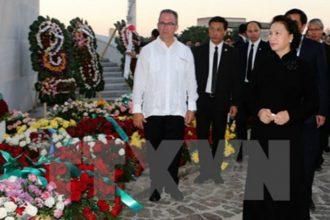 Chủ tịch Quốc hội Việt Nam đặt vòng hoa viếng ...