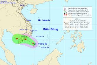 Đêm nay áp thấp nhiệt đới vào bờ, Sài Gòn ...