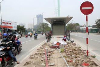 Tuyến buýt nhanh đầu tiên của Hà Nội trước ngày ...
