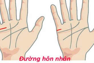 Đưa tay lên xem kỹ đường hôn nhân, nếu thấy ...