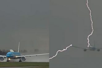 Máy bay Boeing 777 vừa cất cánh bất ngờ bị ...