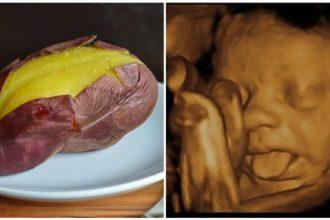 MẸ BẦU ăn 1 củ khoai lang vào thời điểm ...