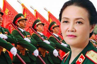 Người phụ nữ có quân hàm cao nhất quân đội ...