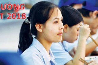 Thông báo mức lương tháng 13 và mức thưởng Tết ...