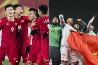 U23 Việt Nam mặc trang phục màu này tỷ lệ ...