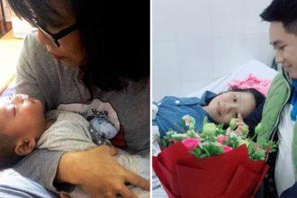 """Mẹ sinh con 40 ngày phát hiện ung thư: """"Chỉ ..."""