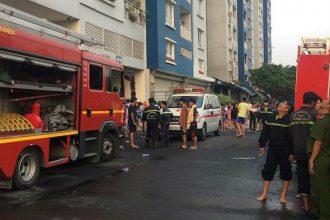 Cháy chung cư cao cấp ở Sài Gòn: Đã có ...
