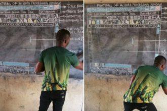 Thầy giáo dạy MS Word bằng cách vẽ hình trên ...