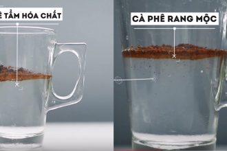 Cách nhận biết cà phê thật và cà phê giả ...