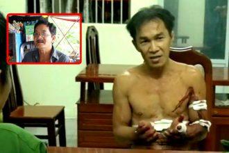 Vụ chặt đầu ném sang nhà Tổ Trưởng ở Đồng ...